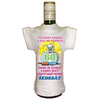 Tričko na lahev jubileum - výročí 60 let